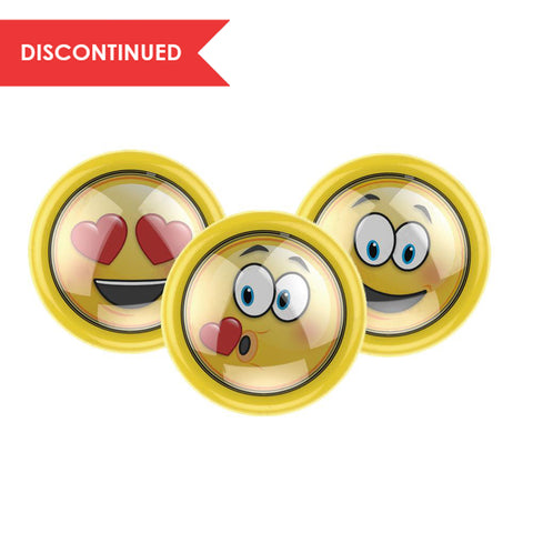 LED Emoji Puck Light - 3 Pack | LP2002Y-N3