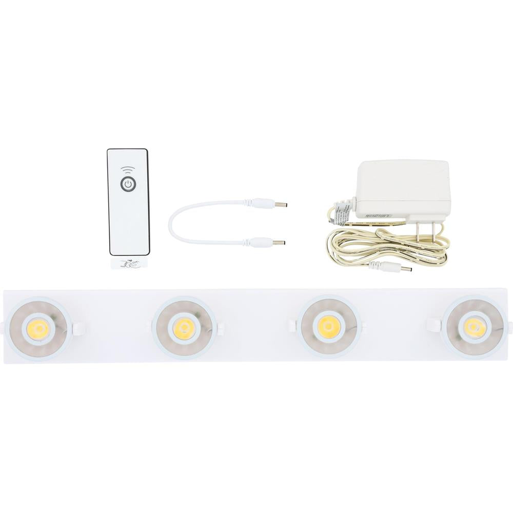 LED Track Light w/ Remote and Dual Power | LPL1074WRCAC