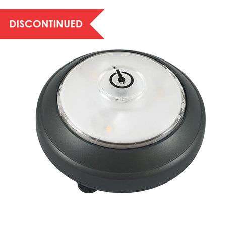 LED Swiveling Puck Light - Gray | LPL620XX