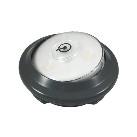 LED Swiveling Puck Light - Gray
