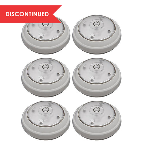 LED Swiveling Puck Light (6pk) - White | LPL626WBX