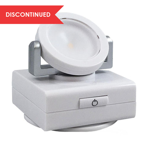 LED Pivot & Swivel Light - White | LPL743W