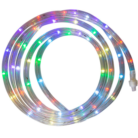 Indoor/Outdoor LED Color Changing Rope Light Kit 12' | LROPE12RGB