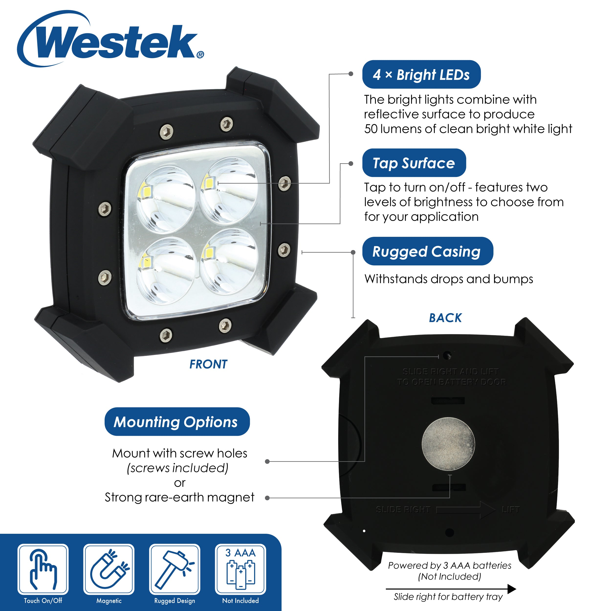 LED Rugged Puck | LW2002B