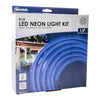 Indoor/Outdoor Neon LED Blue Rope Light Kit 4M | NEONBL4M