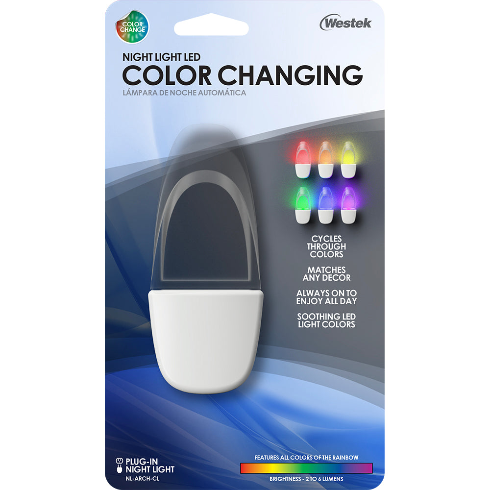 Arch Color Changing LED Night Light | NL-ARCH-CL