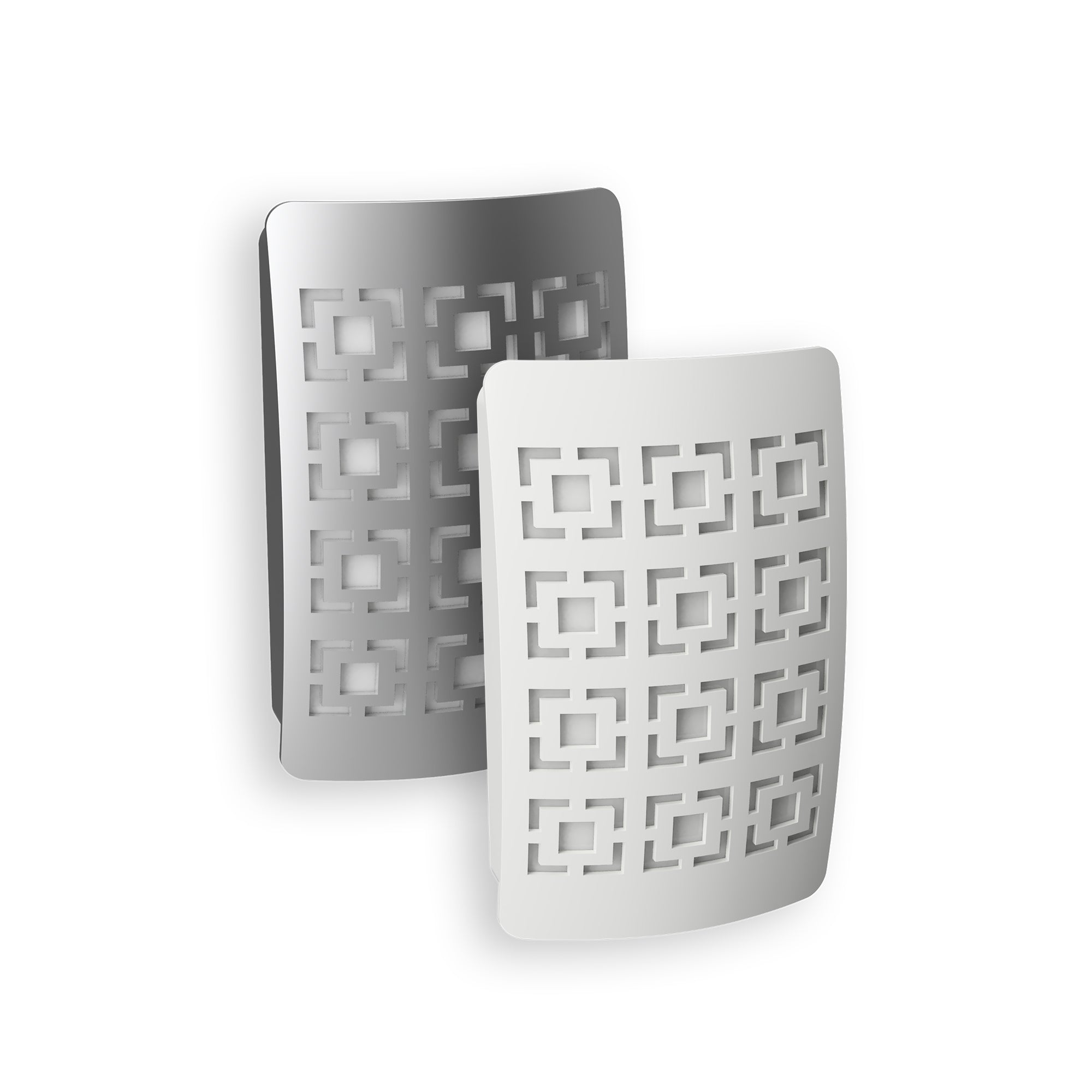 GeoSquare DecoPlug LED Night Light | NL-DPGS-W, NL-DPGS-N