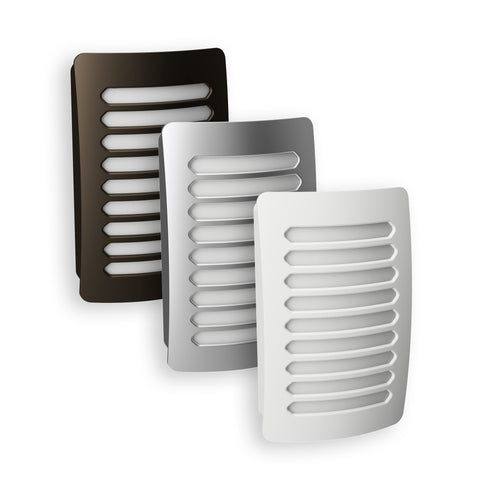 Louver Decoplug LED Night Light | NL-DPLV-W, NL-DPLV-N, NL-DPLV-DB