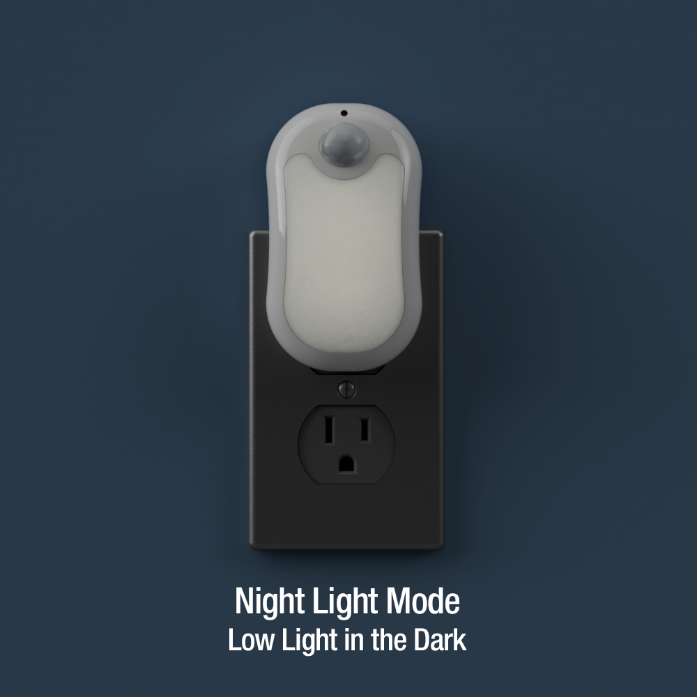Otto Dual Brightness Motion Activated LED Night Light | NL-OTTO-2T
