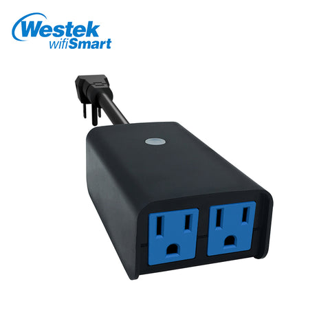 WifiSmart Outdoor 2-Outlet Timer