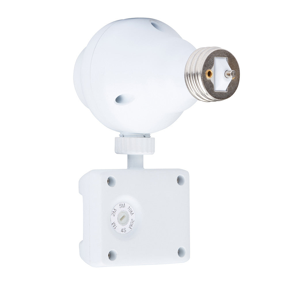Outdoor Motion Activated Light Control With Adjustable Off