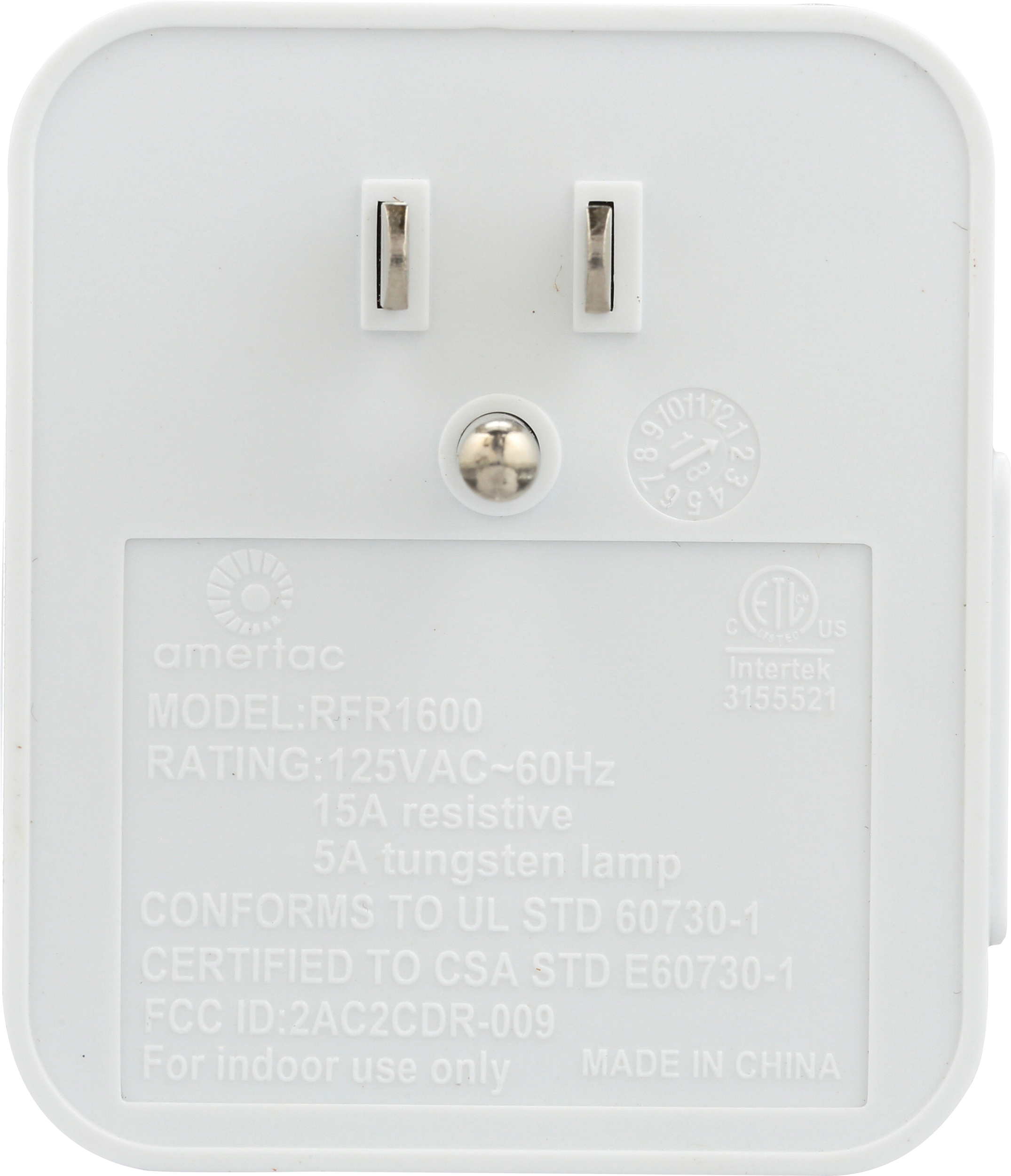 Indoor Wireless Wall Switch | RFK1600