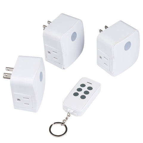 Indoor Wireless Remote Fob 3-Pack