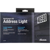 Westek Illuminated LED Address Light | SL-ALWR