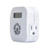 Indoor Weekly Digital Round Timer 2-Outlet Grounded | TE1606