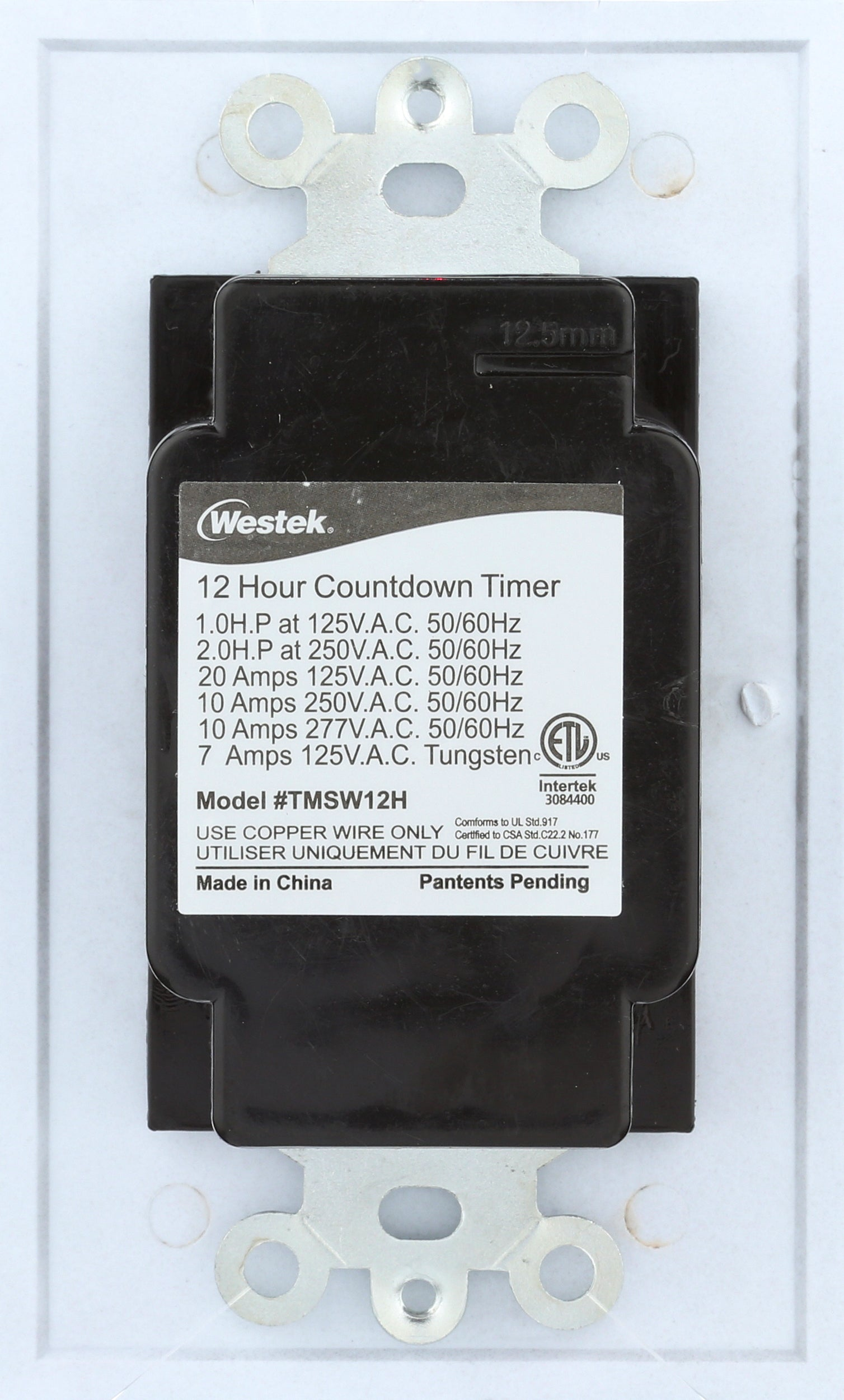 Indoor Wire-In Spring Wound Countdown Timers | TMSW15MS, TMSW30MS, TMSW60MS, TMSW12HS
