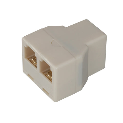Telephone Splitter, Almond | TS1001SPL2A