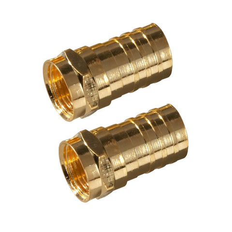 Crimp On F Connectors | VA1002RG6CR, VA1010RG6CR