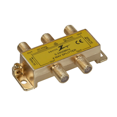 4 Way Coax Splitter | VS3001SP4W