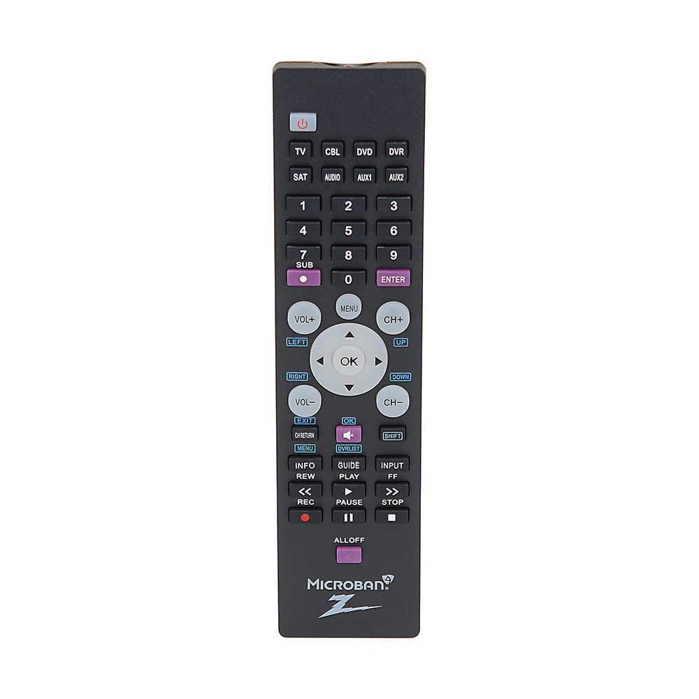 8-Device Universal Remote w/ Microban® Technology | ZR800MB