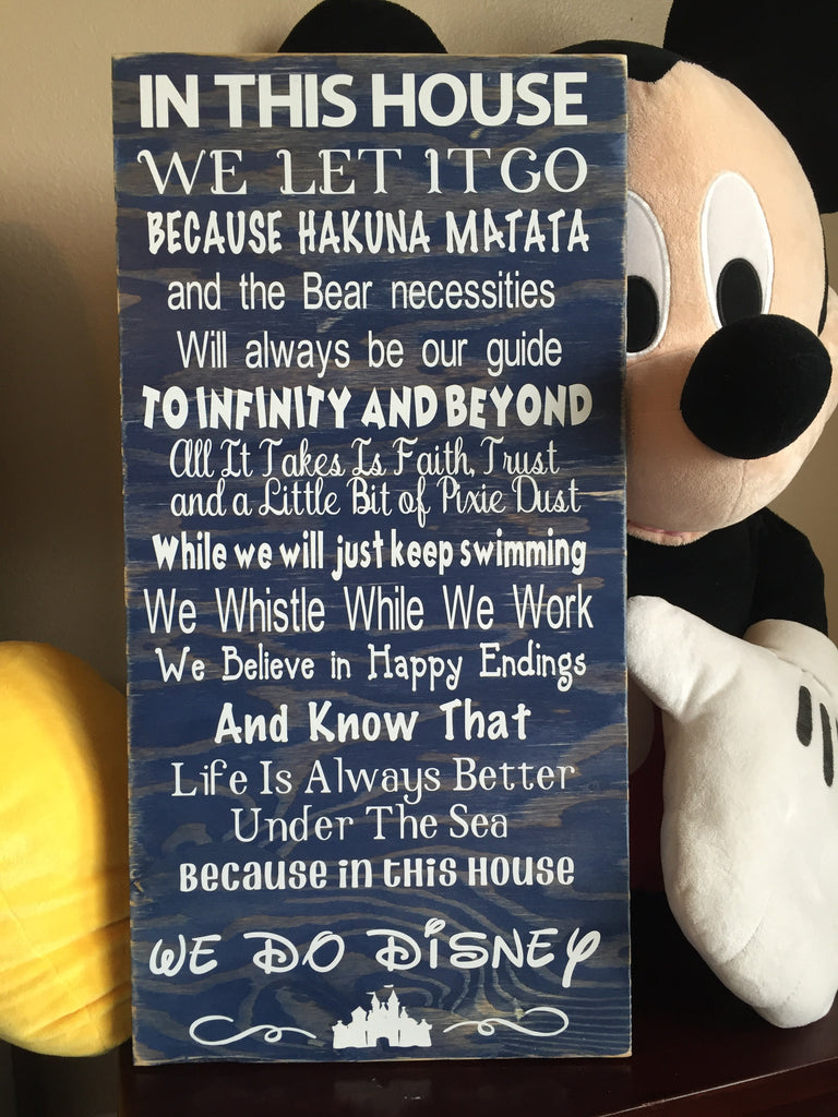 Disney Quotes Wood Sign Abreezycreation
