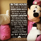 We all Love Mickey! Magical Quotes Wood Sign