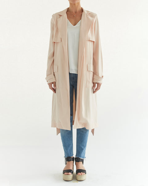 Detachable Sleeveless Trench Coat