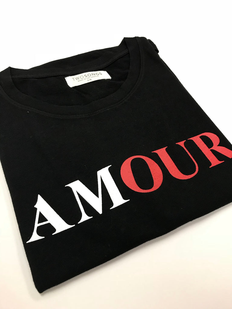 BACK IN STOCK! Amour T-shirt