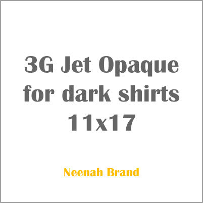 3G Jet Opaque for dark shirts 11x17