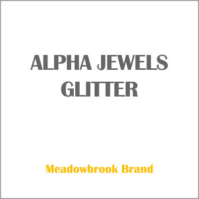 GLITTER ALPHA JEWELS GLITTER 0.008