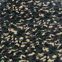 "Foil, Camo Camouflage  Green Heat Transfer Vinyl 19"" HTV"