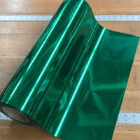 "Foil, Green Heat Transfer Vinyl 19"" HTV"