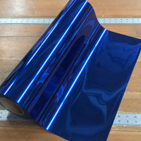 "Foil, Royal Blue Heat Transfer Vinyl 19"" HTV"