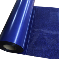 "Glitter, Royal Blue Heat Transfer Vinyl 19"" HTV"