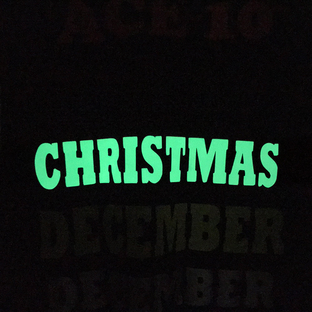 "Glow in the Dark, Lime Green 19"" Heat Transfer Vinyl HTV"