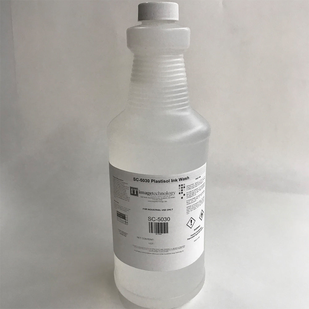 Image Technology SC-5030 Plastisol Ink Wash
