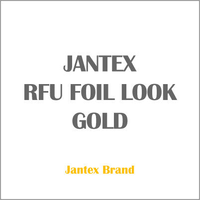 JANTEX RFU FOIL LOOK GOLD