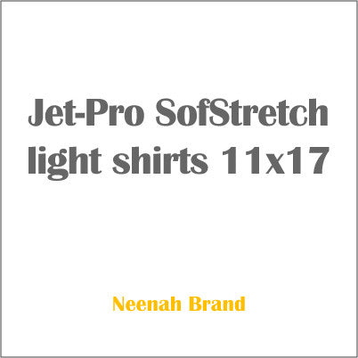 Jet-Pro SofStretch light shirts 11x17