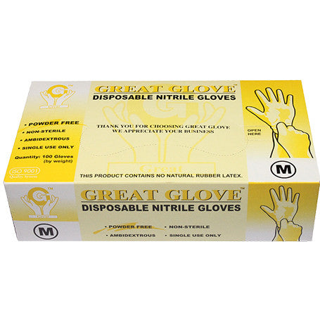 NITRILE GLOVES (100 pcs.)