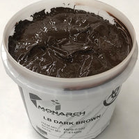 Monarch Plastisol Screen Printing Inks Low Temp Poly/Poly Blend Dark Brown