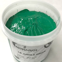 Monarch Plastisol Screen Printing Inks Low Temp Poly/Poly Blend Jungle Green/Tahiti Green
