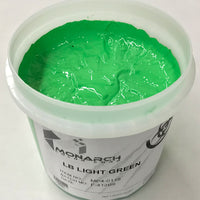 Monarch Plastisol Screen Printing Inks Low Temp Poly/Poly Blend Light Green/Lime Green