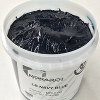 Monarch Plastisol Screen Printing Inks Low Temp Poly/Poly Blend Navy Blue/Navy
