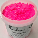 Monarch Plastisol Screen Printing Inks Low Temp Poly/Poly Blend Fluorescent Pink/Aurora Pink