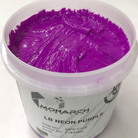 Monarch Plastisol Screen Printing Inks Low Temp Poly/Poly Blend Fluorescent Purple