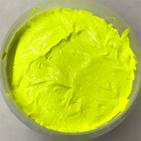 Monarch Plastisol Screen Printing Inks Low Temp Poly/Poly Blend Fluorescent Yellow/Orbit Yellow
