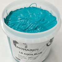 Monarch Plastisol Screen Printing Inks Low Temp Poly/Poly Blend Aqua Blue/Aqua Marine