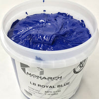 Monarch Plastisol Screen Printing Inks Low Temp Poly/Poly Blend Royal Blue