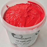 Monarch Plastisol Screen Printing Inks Low Temp Poly/Poly Blend Vivid Red/Flag Red