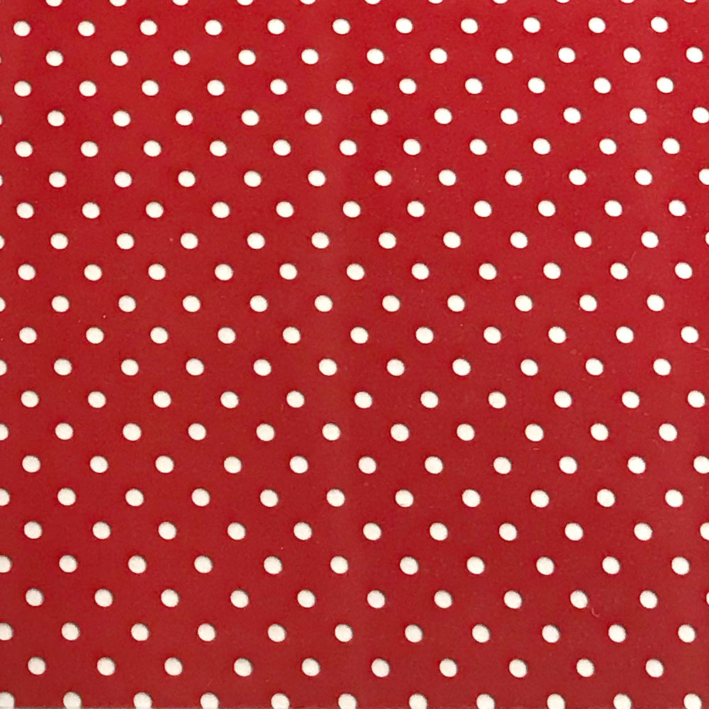 Perforated Red Heat Transfer Vinyl 54yds x 19""